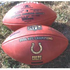 Colts AFC Championship Ball