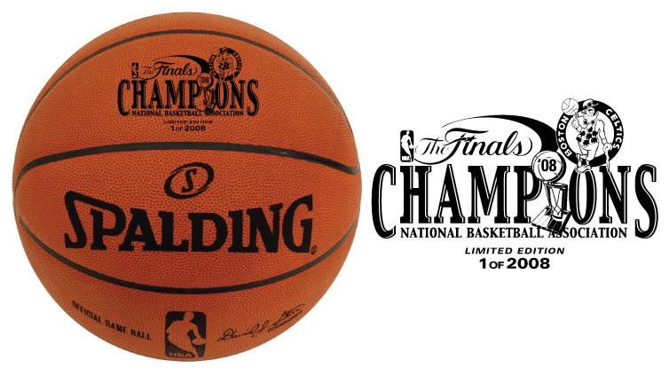 BigTimeBats.com - 2008 NBA Champion Celtics Commemorative Ball
