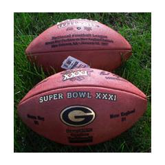 Packers Super Bowl XXXI Game Ball