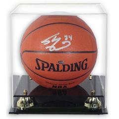 Golden Classic Basketball Deluxe Display Case