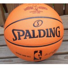 BigTimeBats.com - 2007 NBA Finals Comemorative Basketball - Limited Edition