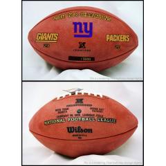 2007 NFC Champion Giants Game Ball