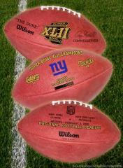 NY Giants Super Bowl XLII Champs Ball