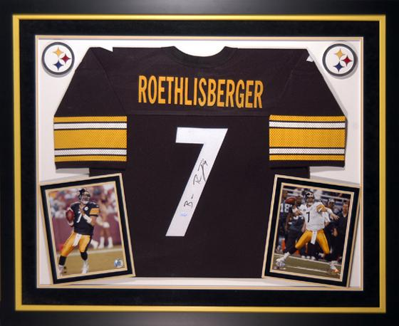 best service 7e21c c92d2 Autographed & Framed Authentic Ben Roethlisberger Jersey ...