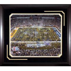 Autographed Steelers Super Bowl XL Framed Photo