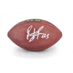 Autographed Troy Polamalu Authentic Super Bowl XL Football