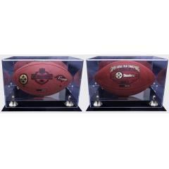 Steelers Super Bowl XLIII Champs Commemorative Ball Set with FREE Display Case