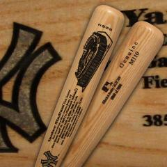 New Yankee Stadium First Game Commemorative Louisville Slugger