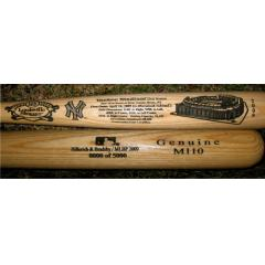 New Yankee Stadium First Game Commemorative Louisville Slugger Autographed by Derek Jeter