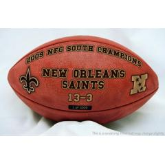 Authentic New Orleans Saints NFC Championship Game Collectible Football