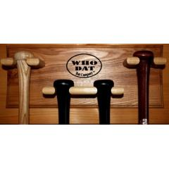 Who Dat Bat Co. Four Bat Display Rack