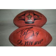 Drew Brees Autographed Football - Authenticated!