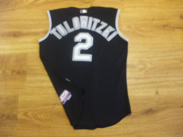 reputable site 990e3 68998 Authentic Troy Tulowitzki Rookie Season Game Worn Vest ...