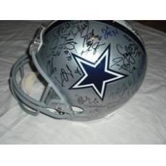 65e920d1c BigTimeBats.com - Authentic Dallas Cowboys 2010 Team Signed Helmet
