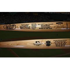2010 NL Rookie of the Year Buster Posey Autograhed Bat