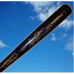 "Rex Ryan Autographed ""It's Personal"" Bat from the Bring the Wood Bat Co."