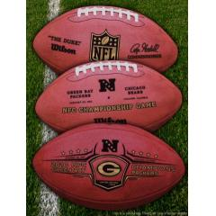 Authentic Green Bay Packers 2010 NFC Champions Official Wilson Football