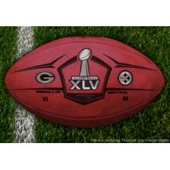 Authentic Super Bowl XLV Official Wilson Football