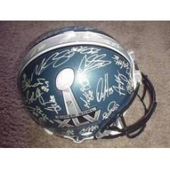 Authentic Green Bay Packers Autographed Super Bowl XLV Helmet