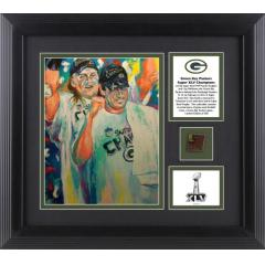 Packers Super Bowl XLV Celebration Giclee - Art by Al Sorenson