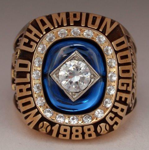 BigTimeBats.com - Orel Hershiser 1988 LA Dodgers World ...