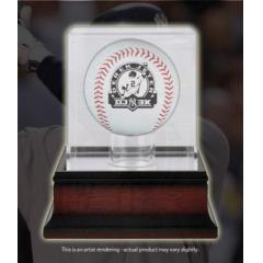 Derek Jeter 3000th Hit Commemorative Ball with Case