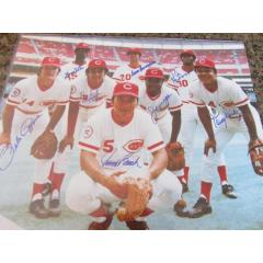 Big Red Machine Autographed 16x20 Color Photo