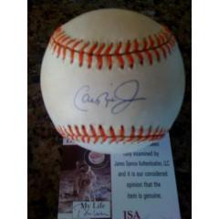 Ripken autographed 2,131 Ball & LOA