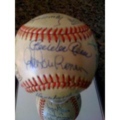 Brooklyn Dodgers Stars Autographed Baseball