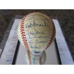No Hitter Autographed Baseball - 22 Signatures