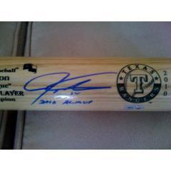 Texas Rangers World Series Autographed Memorabilia
