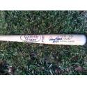 Johnny Bench Signed & Inscribed Louisville Slugger