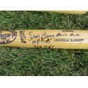 Ernie Banks Signed & Inscribed Louisville Slugger