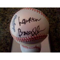 Baseball Signed by American Film Legend Lauren Bacall