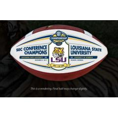 LSU Tigers 2011 SEC Champions Commemorative Football