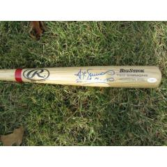 Ted Simmons Autographed Bat