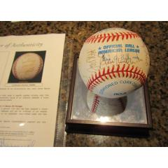 1998 Baltimore Orioles Team Signed Baseball