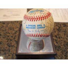 1995 White Sox Team Signed Baseball