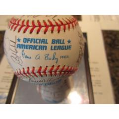 1998 Tampa Rays Team Signed Baseball