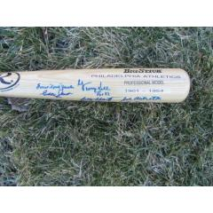 Philadelphia A's RARE Signature Bat