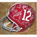 2011 Alabama Team Signed Helmet