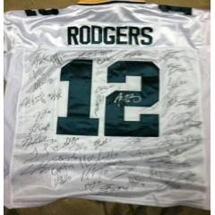 2011 Green Bay Packers Team Signed Jersey