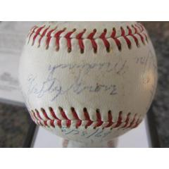 Hall of Famer Multi-Player Signed Baseball featuring Lefty Grove