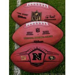 Giants v 49ers NFC Championship Game Ball
