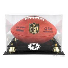 SF 49ers Custom Logo Display Case