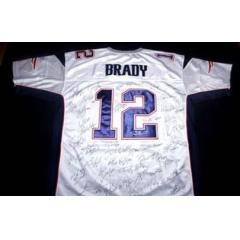 Patriots Authentic Team Signed Jersey