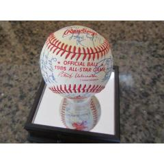 1985 AL All Stars Signed Baseball