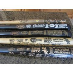 2005 White Sox Championship Season Bat Collection