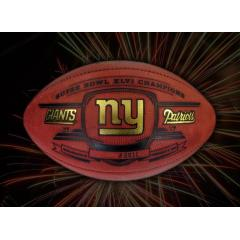 Official NY Giants Super Bowl XLVI Champions Football