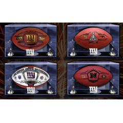 NY Giants Super Bowl XLVI Ultra Deluxe Four Ball Set